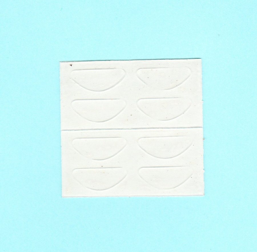 Stick On Nose Pads 19mm X 7mm X 0 8mm Thick Adhesive
