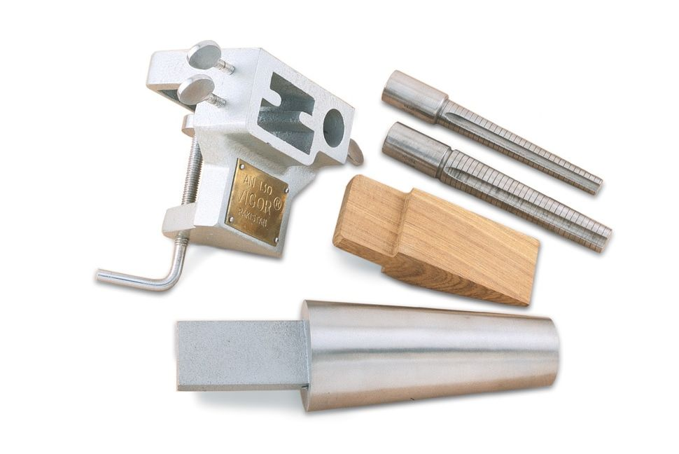 Mandrel Bench Pin Clamp Amp Anvil Set For Metal Forming