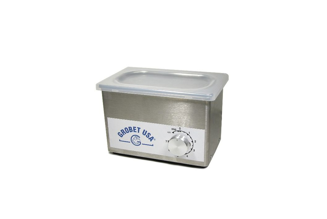Pint ultrasonic jewelry cleaner mighty midget iii 7 x 4 1 for Stainless steel jewelry cleaner
