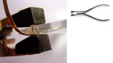 Rimless Eyeglass Bushings : Plastic Bushing Closers For Safilo & Silhouette Frames ...