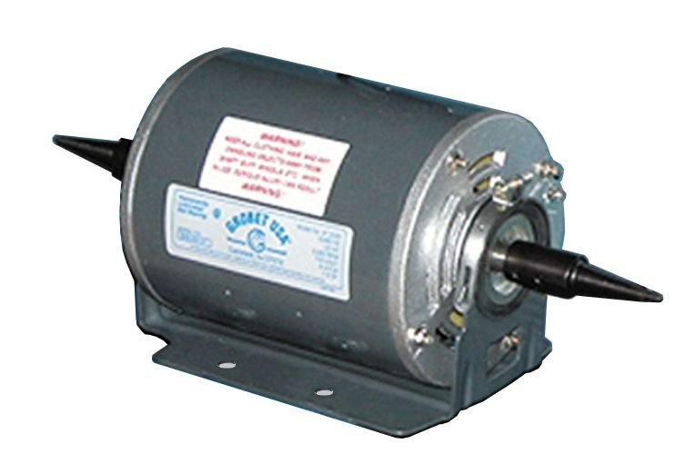 Pro craft motor 1 3 hp electric motor 110 volt 1 speed 1 2 for Two speed electric motor