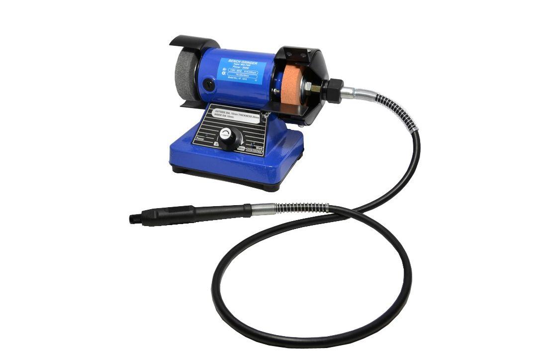 Multi Grinder Grinder Polisher Flex Shaft Tool 1 8 Hp 110v 1500 4000 Rpm Qte North Am Qte